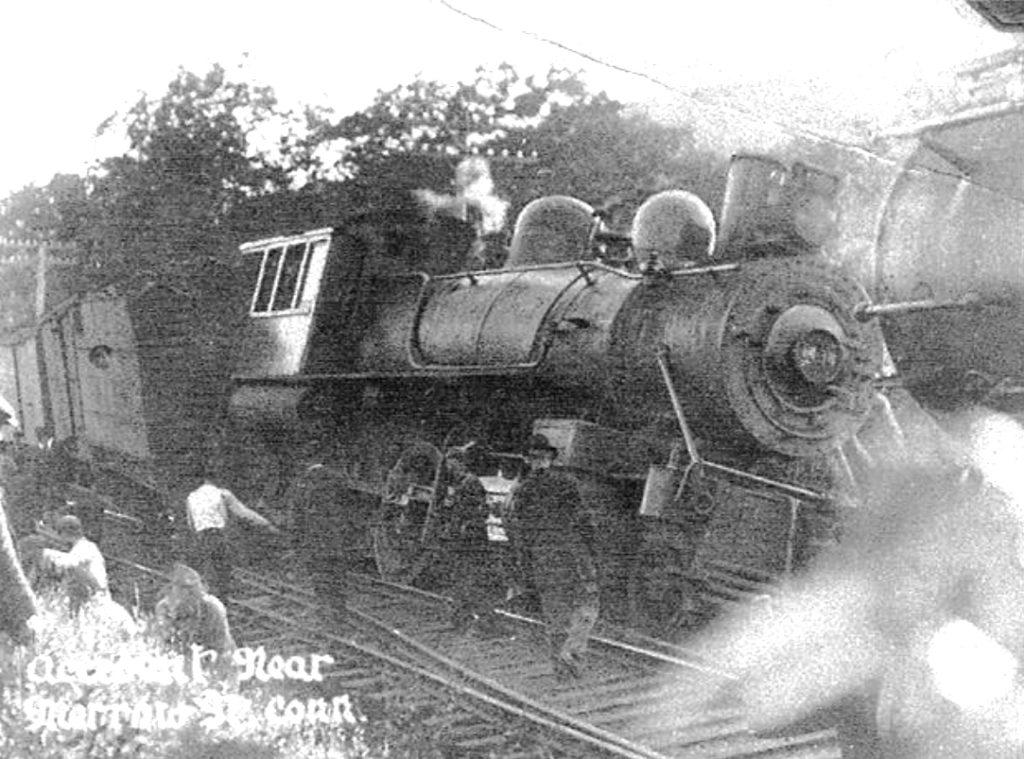 Merrow Station Accident