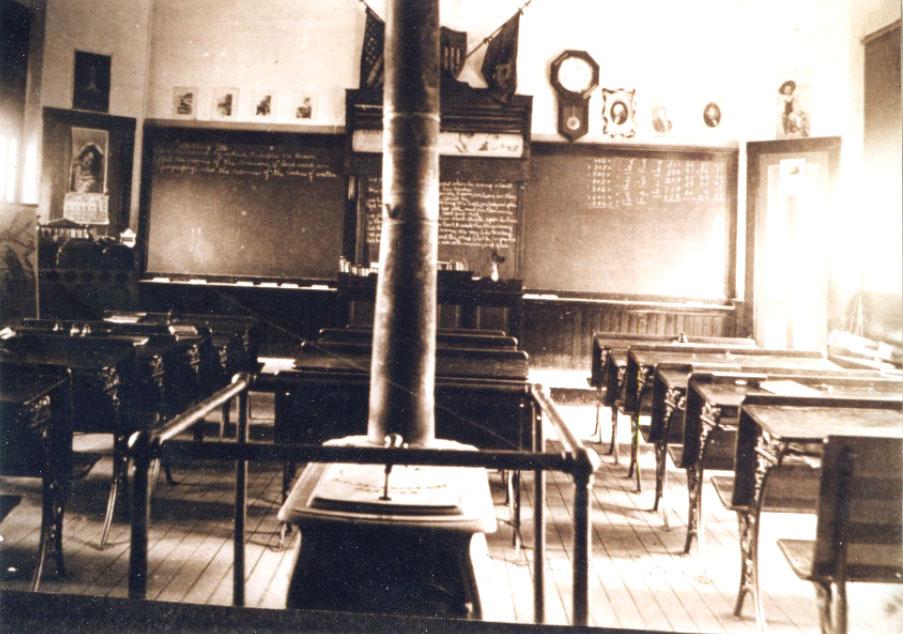 Mansfield Depot School, 1908