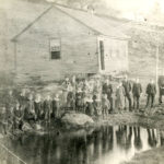 Willowbrook School and students, c. 1881