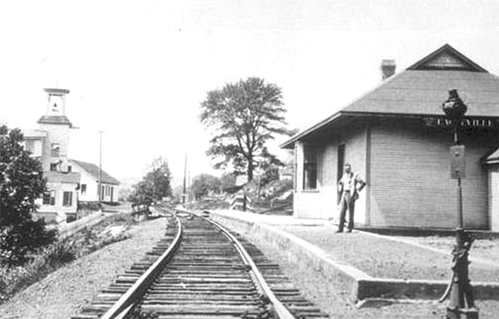 Eagleville Train Depot