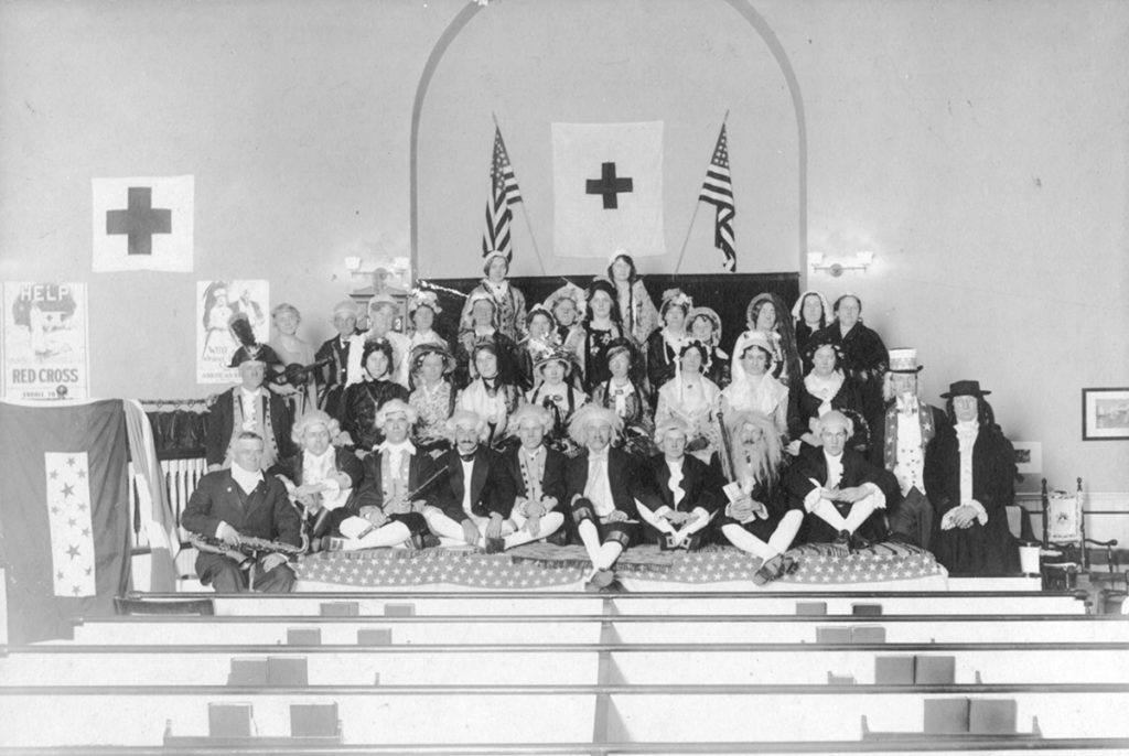 First Church Mansfield Center Olde Folkes Concert