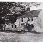 Farwell House, Storrs.  Built c.1746-1756, burned November 27, 1976
