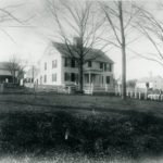 This image of the Dewing house is from a set of photographs of Mansfield Center taken by the Homestead View Co. of Springfield, MA in 1874.