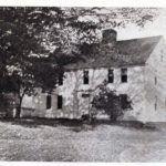 Taken c. 1900, this is the only known photograph that shows the façade of the Farwell house prior to its conversion to a two-family dwelling in the mid-20th century.